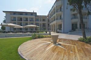 Esterno dell'hotel Villa Luisa