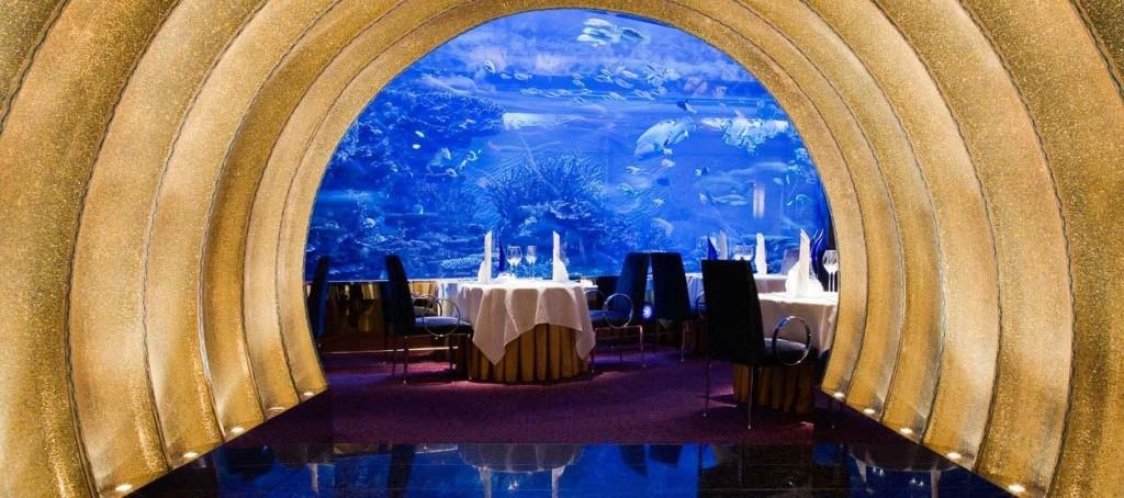 Ristorante Al Mahara dell'hotel Burj Arab