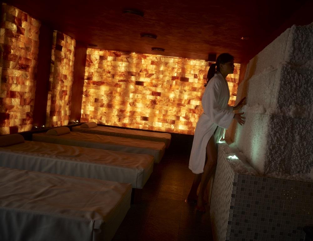 Stanza del sale della Spa dello Chalet Dolce Vita