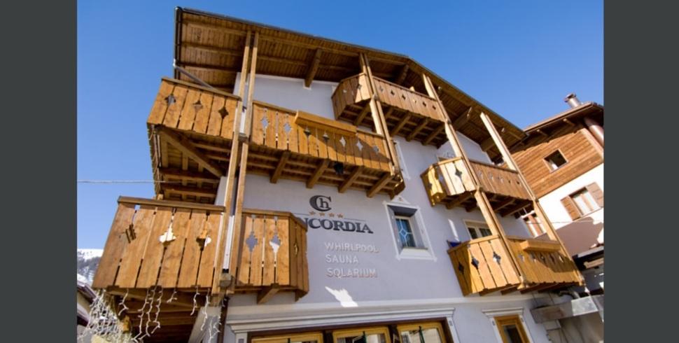 L'hotel Concordia e le nuove fashion room