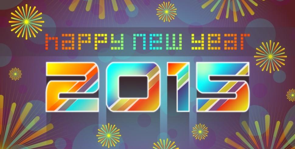 Auguri da tutti noi per un 2015 sereno e prospero!