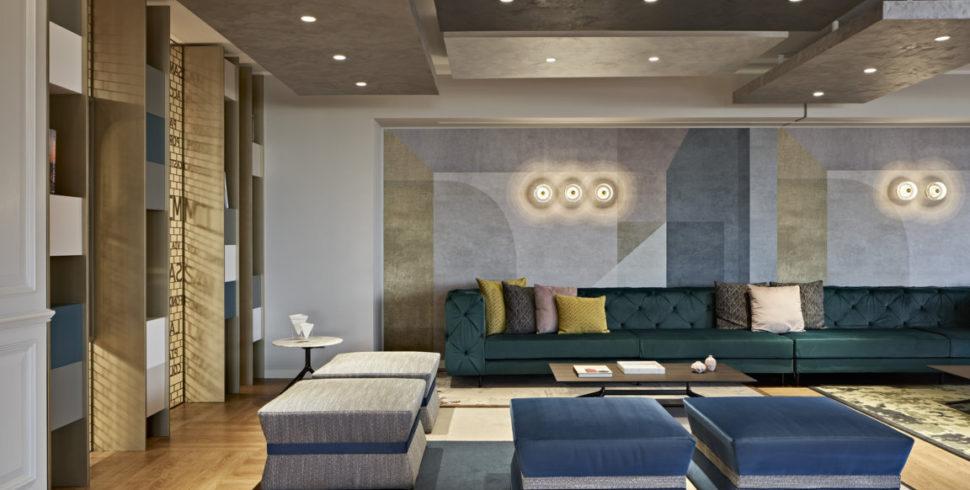 L'interior design che incoraggia l'interazione allo Sheraton Milan San Siro