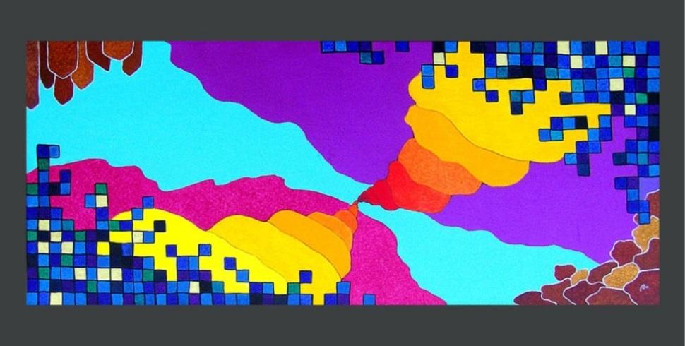 Paolo Massimo Ruggeri e la sua cosmologia cromatica