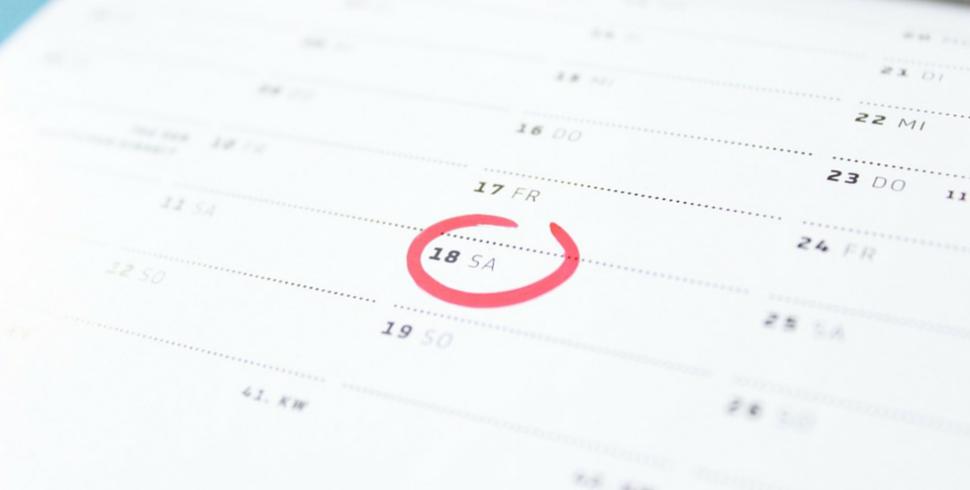 Create il vostro calendario delle richieste