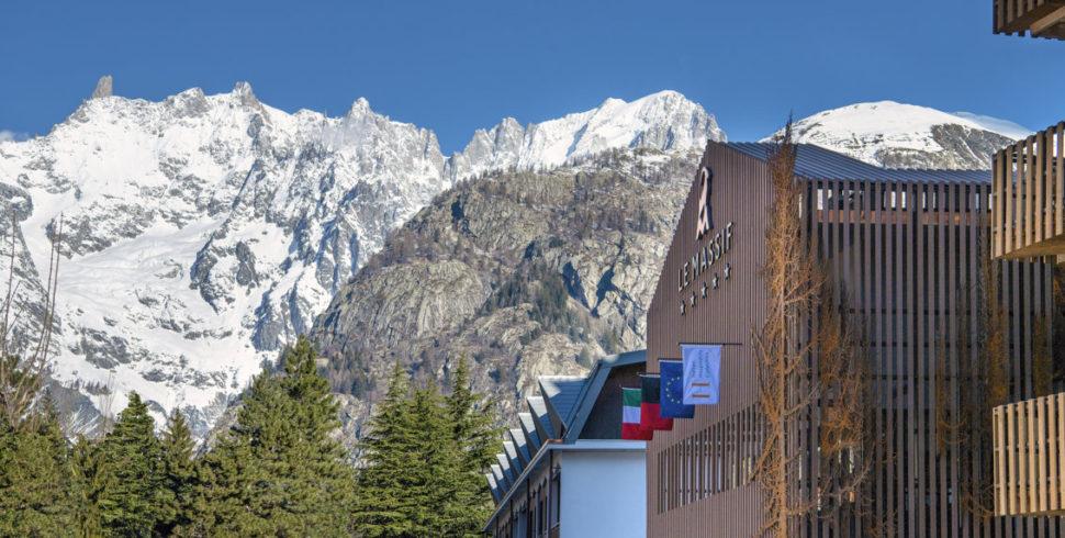 Le Massif hotel***** di Courmayeur incontra Concreta, un contractor a 5 stelle