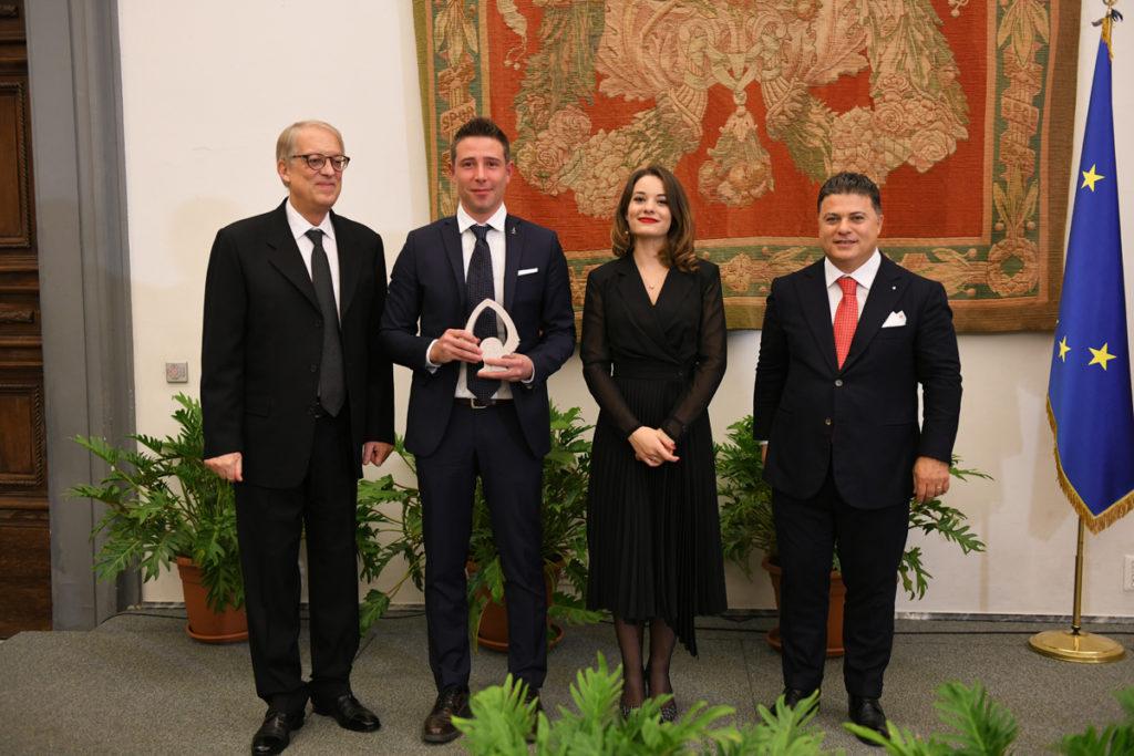 Stefano Gavazzi, Concreta Srl, ritira il premio 100 Eccellenze Italiane